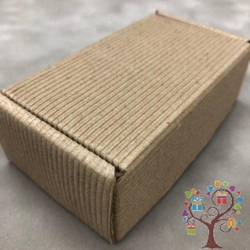 коробка из картона с открытой волной