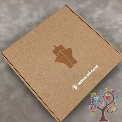 самосборная коробка из мгк с печатью